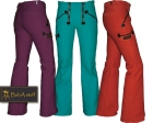 Coloured guild trousers ply-yarn double pilot - Ladies with fl