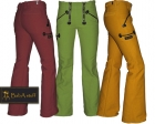 Coloured guild trousers ply-yarn double pilot - Men with flare
