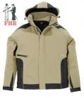 Softshell Jacke mit Kapuze (in 8 Farben erhältlich)